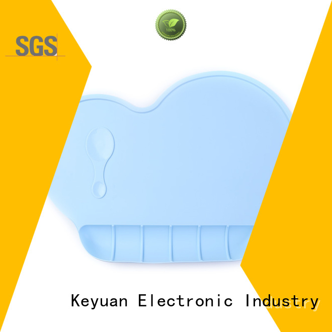 Keyuan embossed silicone household products customized for kitchen