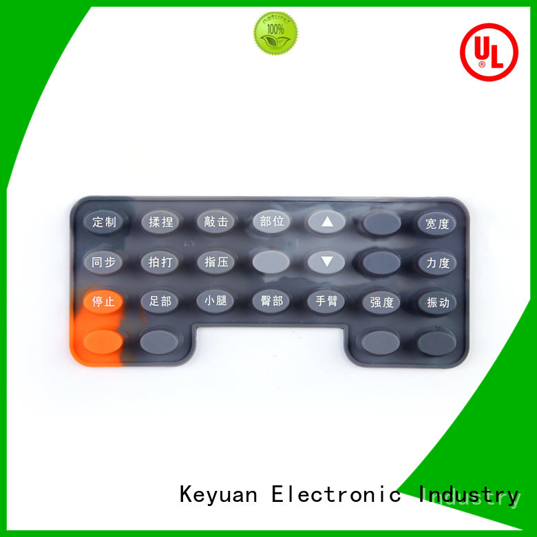 Keyuan Diameter: 1-9mm silicone rubber products manufacturer combo For Home Remote Control
