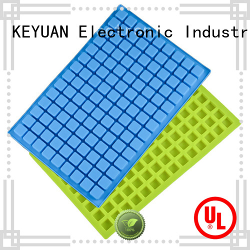 Keyuan silicone kitchen products Ice cube mold