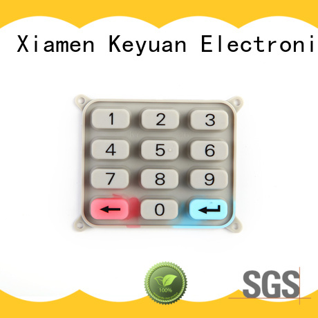 Keyuan -30—200℃ silicone rubber products manufacturer combo For Keypad