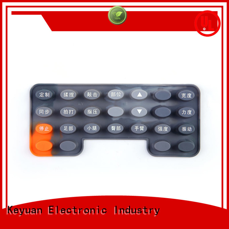 Keyuan -30—200℃ silicone rubber products manufacturer OEM/DEM For Massage Chair