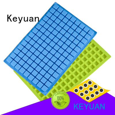 Keyuan 100% food grade silicone silicone kitchen products Ice cube mold