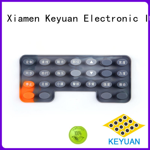 Keyuan Purity: 75 silicone rubber products manufacturer custom For electronic