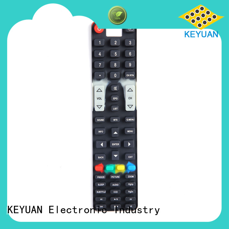 Keyuan 0.3-0.9mm silicone rubber products manufacturer Dustproof For Air Conditioner Remote Control