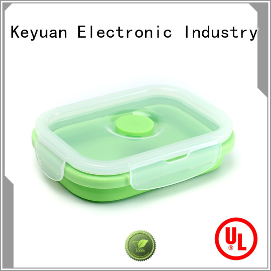 Keyuan 18*18*0.8cm household silicone items Honeycomb For meal