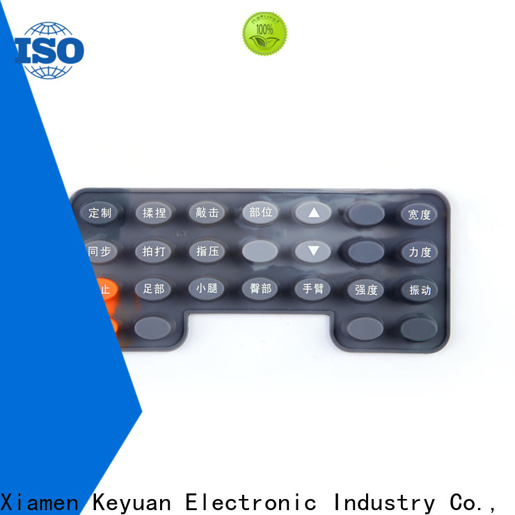 Keyuan silicone rubber products manufacturer wholesale for Keypad