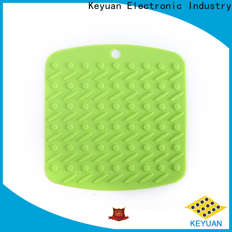 Keyuan square household silicone items from China for kitchen