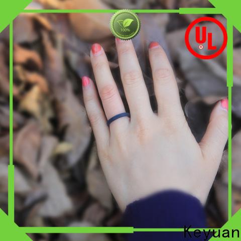 Keyuan silicone engagement ring manufacturer free sample