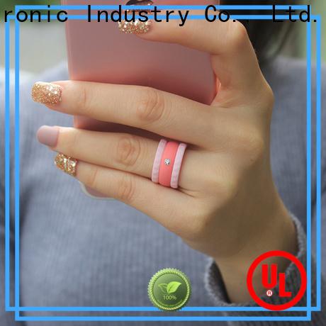 Keyuan quality silicone engagement ring manufacturer free sample