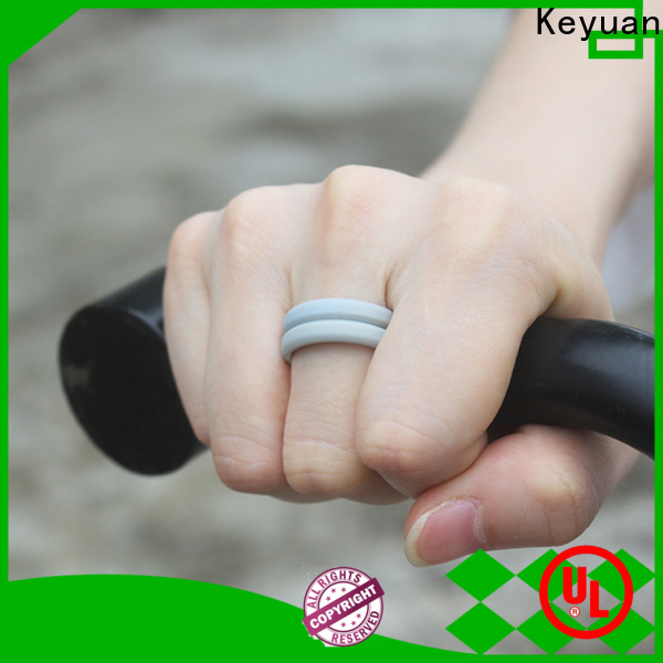 durable rubber wedding rings manufacturer free sample