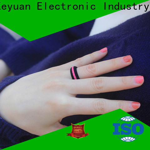 Keyuan quality custom silicone rings manufacturer for wholesale