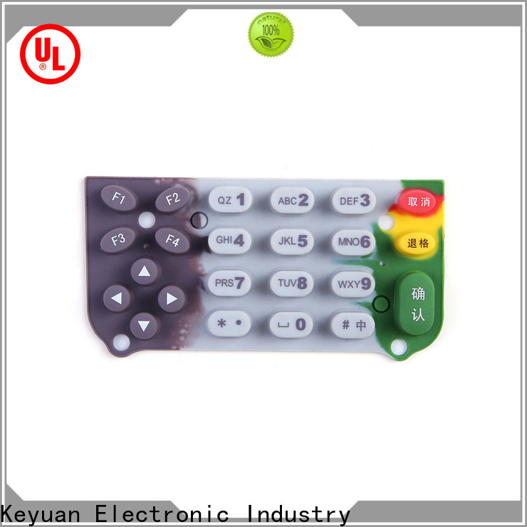 Keyuan excellent silicone rubber products factory price for industrial