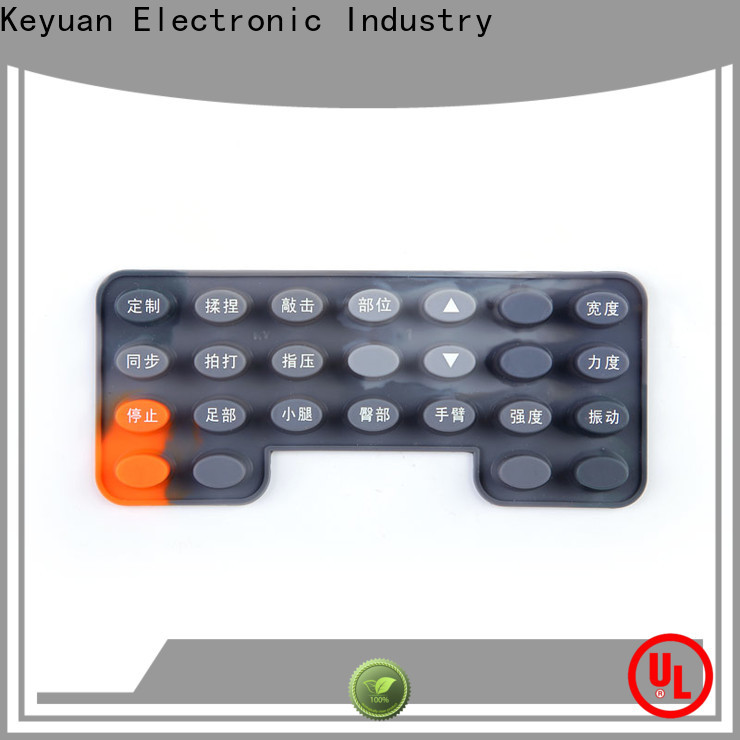 Keyuan quality silicone rubber products manufacturer supplier for Keypad