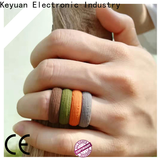 Keyuan quality assured rubber wedding bands company free sample