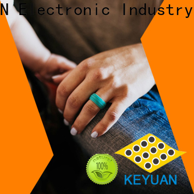 Keyuan rubber wedding rings company free sample