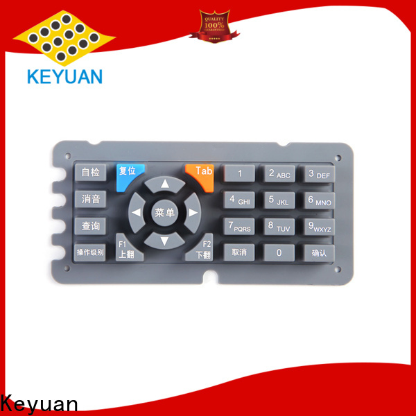 Keyuan silicone rubber products personalized for remote control