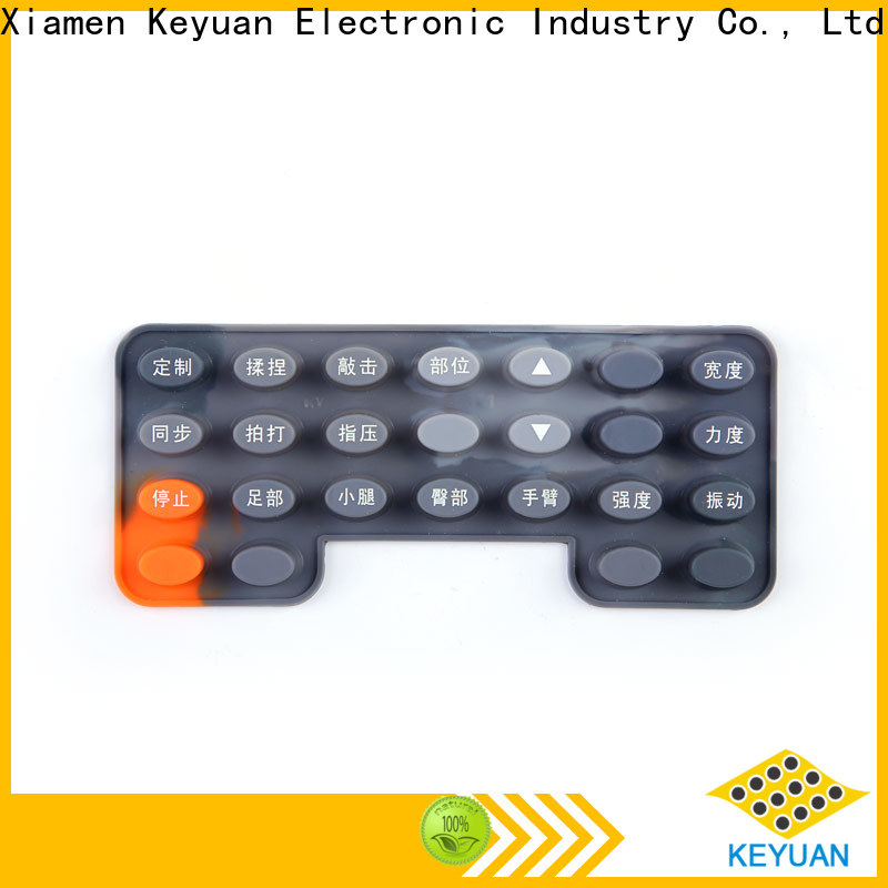 conductive silicone rubber products manufacturer personalized for keypad