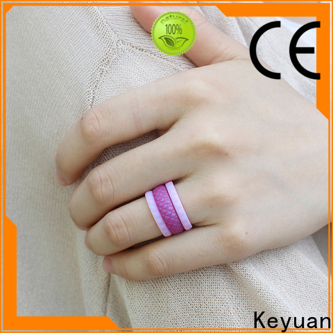 Keyuan silicone wedding bands factory fast delivery