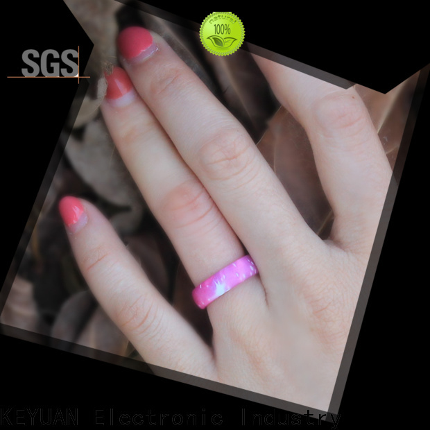 Keyuan mens silicone rings supplier free sample