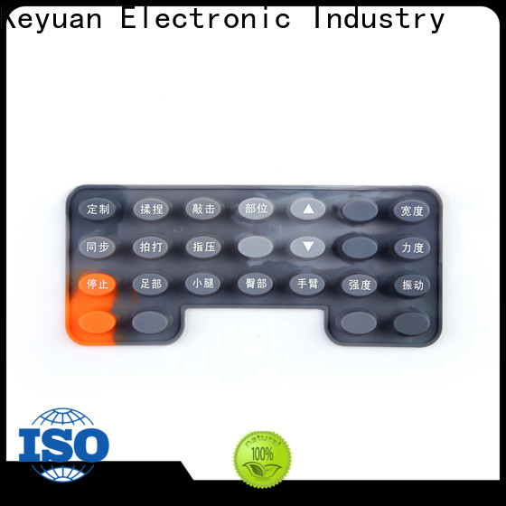 approved silicone rubber products personalized for keypad