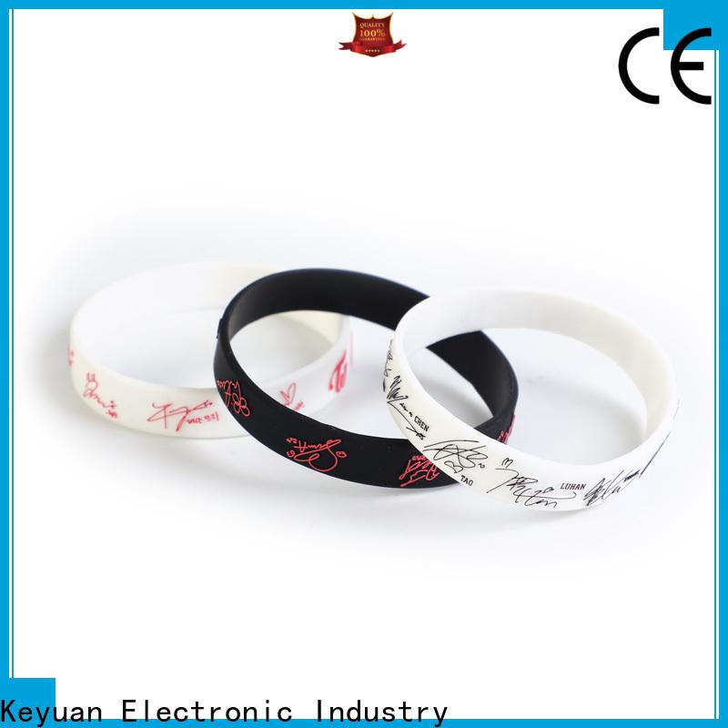Keyuan rubber wedding rings supplier free sample