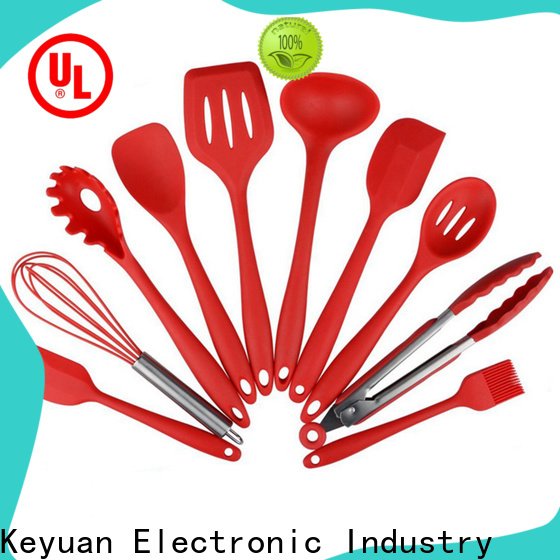 Keyuan durable silicone kitchenware products factory for kitchen