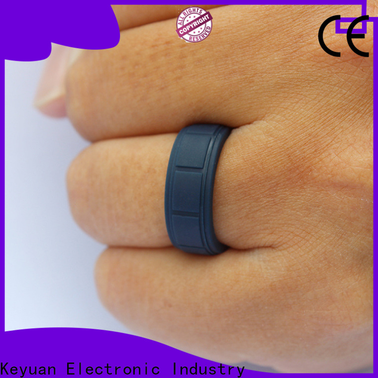 Keyuan durable silicone wedding rings manufacturer fast delivery