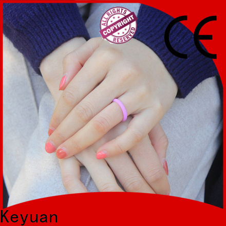 Keyuan hot-selling mens silicone rings supplier for wholesale