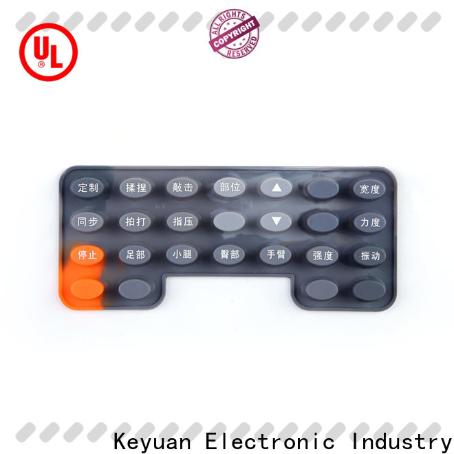 Keyuan excellent silicone rubber products supplier for keypad