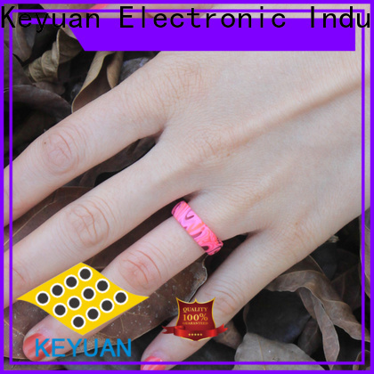 Keyuan quality assured best silicone rings supplier for wholesale