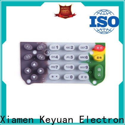 Keyuan silicone rubber products manufacturer personalized for keypad