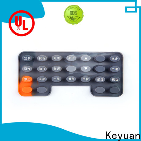 Keyuan silicone rubber products wholesale for keypad