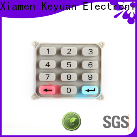 Keyuan excellent silicone rubber products manufacturer factory price for industrial