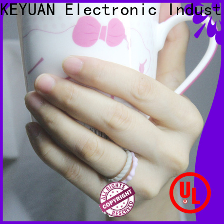 Keyuan durable rubber wedding rings factory fast delivery