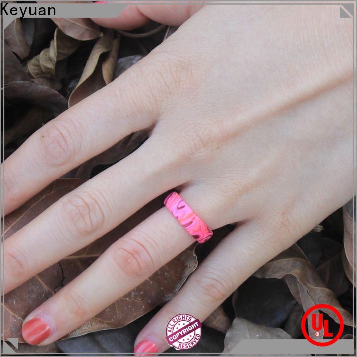Keyuan quality assured rubber wedding bands supplier for wholesale