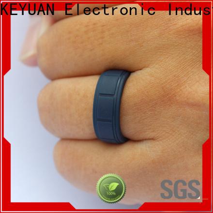 Keyuan durable rubber wedding bands factory free sample