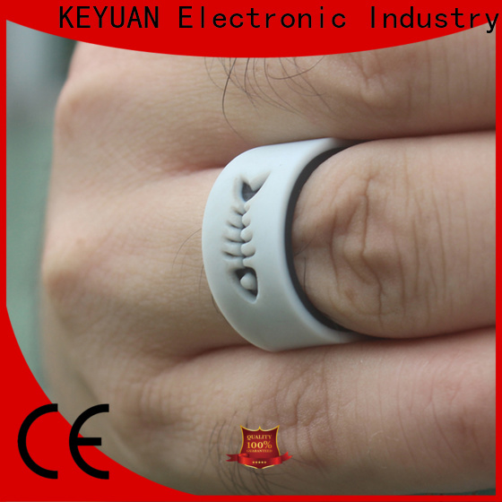 Keyuan rubber wedding rings supplier for wholesale