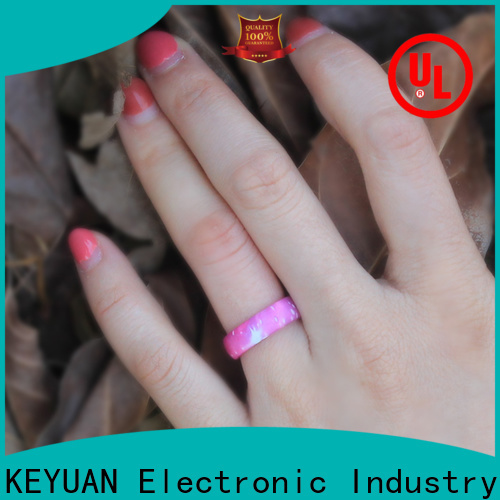 Keyuan quality assured silicone rings factory free sample