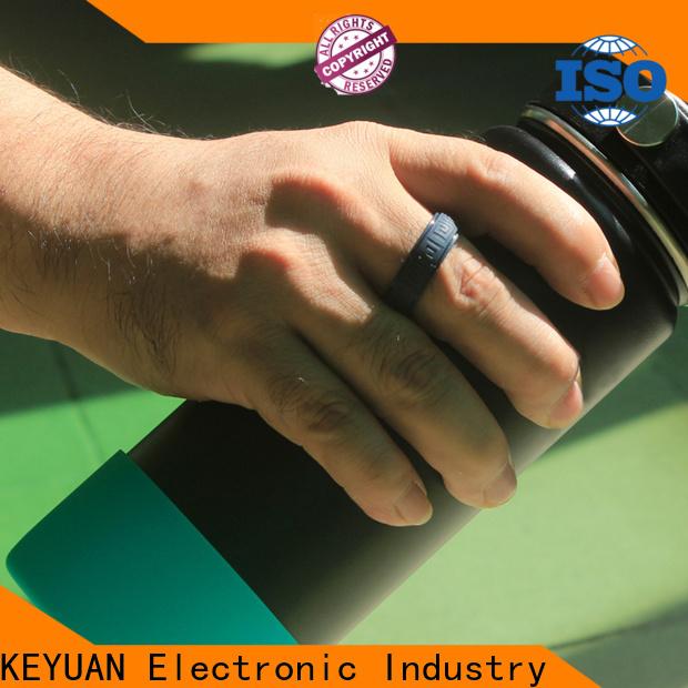 Keyuan rubber wedding bands manufacturer for wholesale