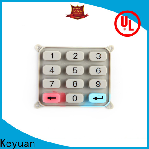 Keyuan silicone rubber products manufacturer supplier for remote control