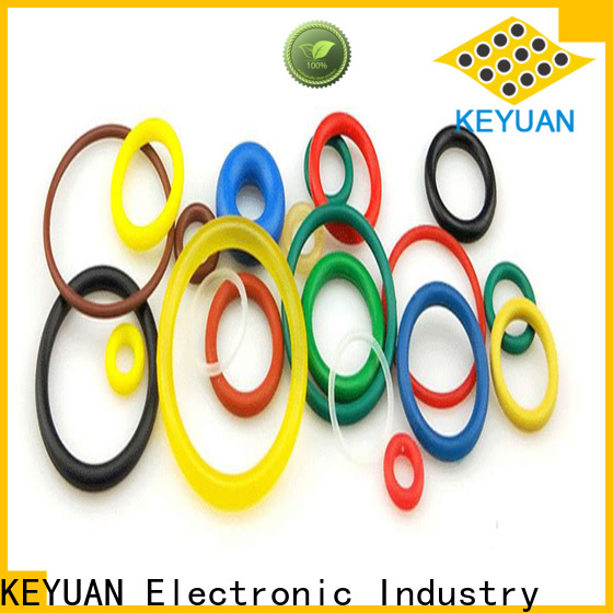Keyuan approved silicone rubber products wholesale for electronic