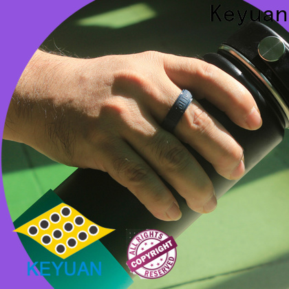 Keyuan quality assured silicone wedding bands factory fast delivery