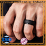 durable rubber wedding rings supplier fast delivery