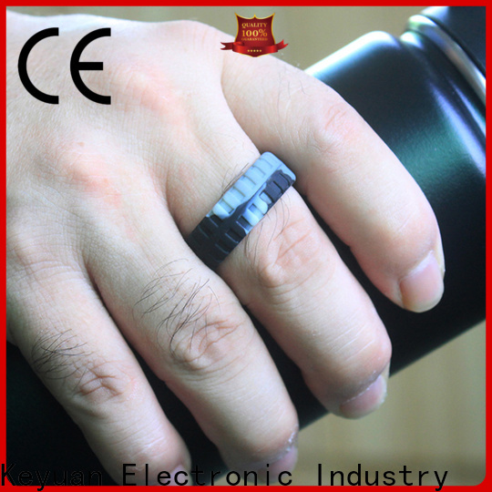 Keyuan durable custom silicone rings manufacturer for wholesale