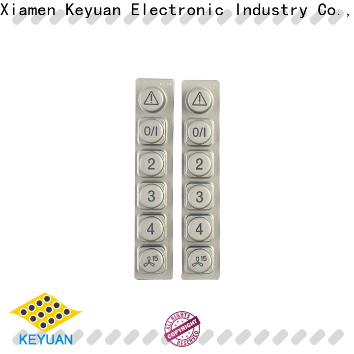 hig-quality silicone rubber products supplier for keypad