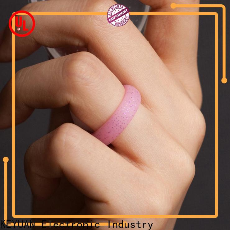 Keyuan silicone wedding bands factory free sample