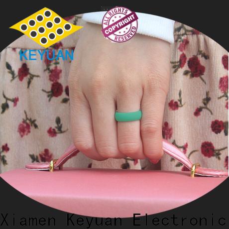 Keyuan mens silicone rings supplier free sample