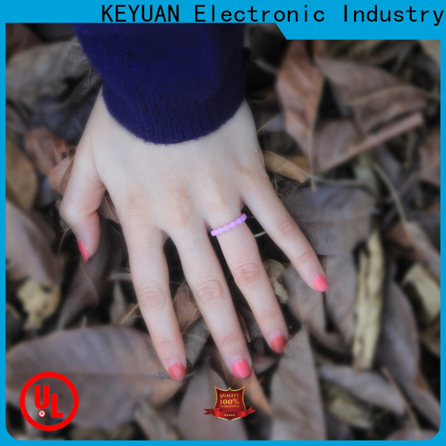 Keyuan rubber wedding rings factory for wholesale
