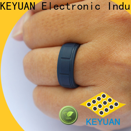 Keyuan rubber wedding bands factory fast delivery