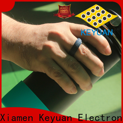 Keyuan quality assured silicone engagement ring factory free sample